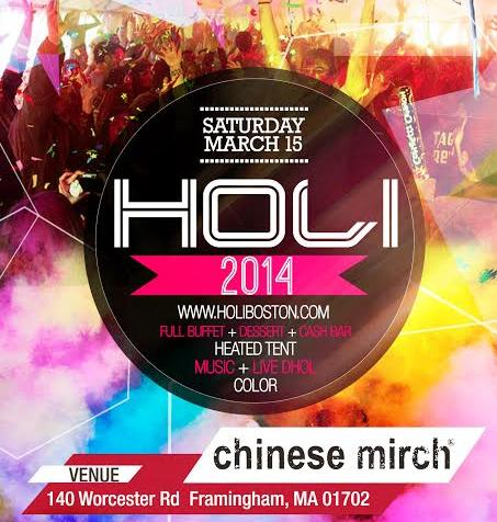 Holi - Chinese Mirch