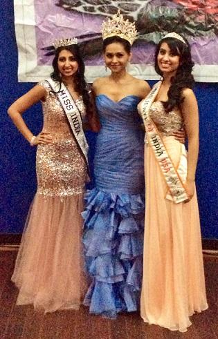 Mansee Sangani Crowned Miss Jewel Of India USA 2014