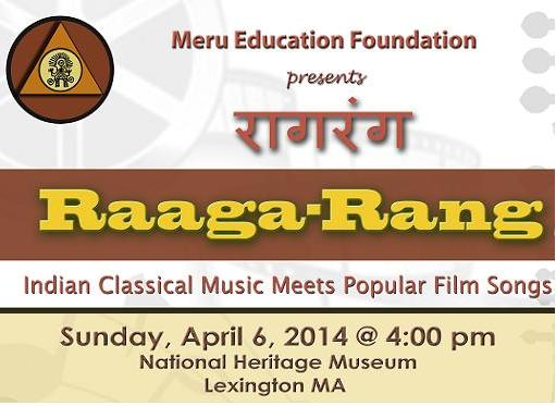 Raaga-Rang:  Journey To The Heart Of Melody!