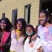 Colorful Holi Celebrated At Dwarkamai Billerica And Gurusthan Northboro Sai Temples