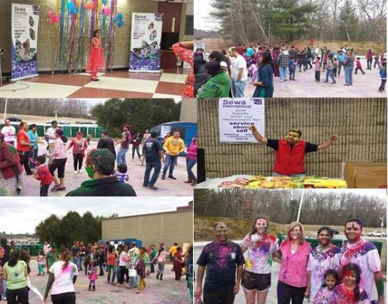 Sewa International Holi Celebration - A Colorful Harbinger Of Spring
