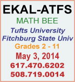 First Ekal - ATFS Math Bee Contest