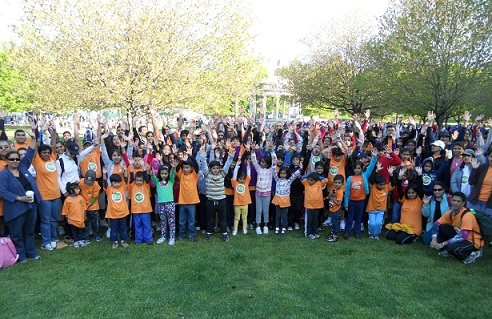 Chinmaya Walkers Gear Up To Feed The Hungry In Massachusetts!
