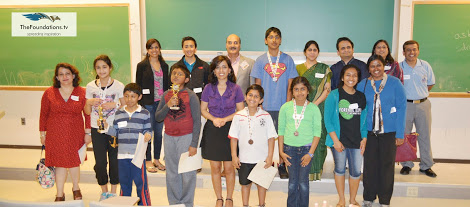 Ekal Vidyalaya And ATFS Learning Center Host Math Bee