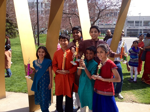Students Of Anubhava School Of Music Shine At Cleveland Aradhana 2014