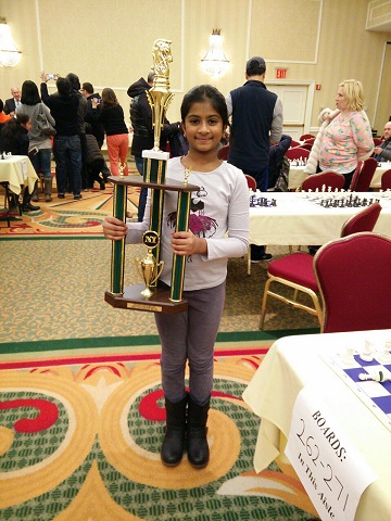 Meghana Kancharla: Runner-up In The Kasparov's Scholastic Chess Championships