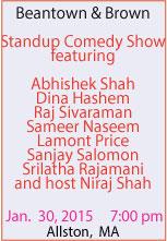 Niraj Shah: Standup Comedy Show