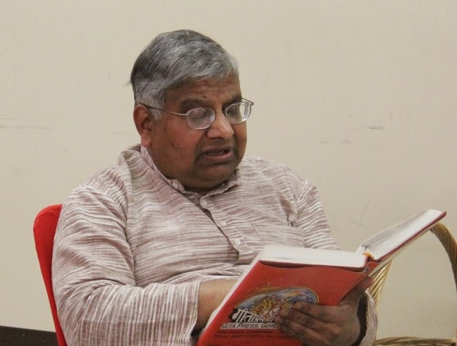 Reading Valmiki Ramayana – An Effort At Dwarkamai Vidyapeeth