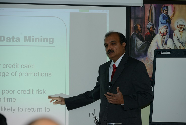 Suresh Kalathur Talks About  Data Mining At Shri Gurusthan, Northboro