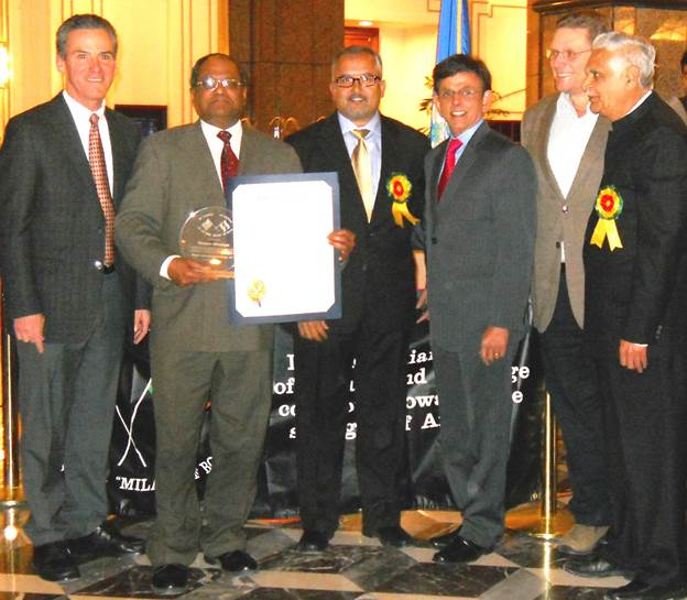 Connecticut State Assembly Honors GOPIO Founder Dr. Thomas Abraham
