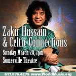 World Music Concerts: Shujaat Hussain Khan And Zakir Hussain