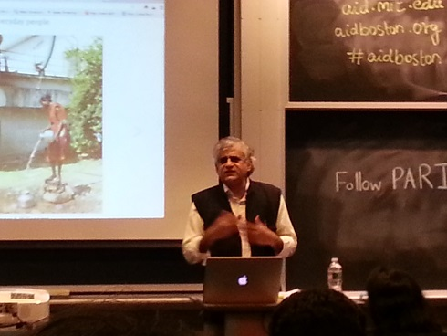 AID Hosts P. Sainath Of People Archive Of Rural India