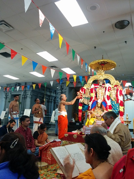 Tulasidasa's SriRamacaritamanasa Reading At SriLakshmi Temple