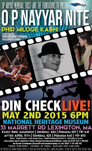 Din Check Presents O.P. Nayyar Nite