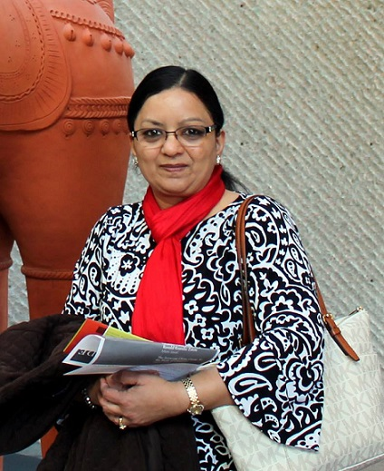 Priti Lathia - IndiArt Judge