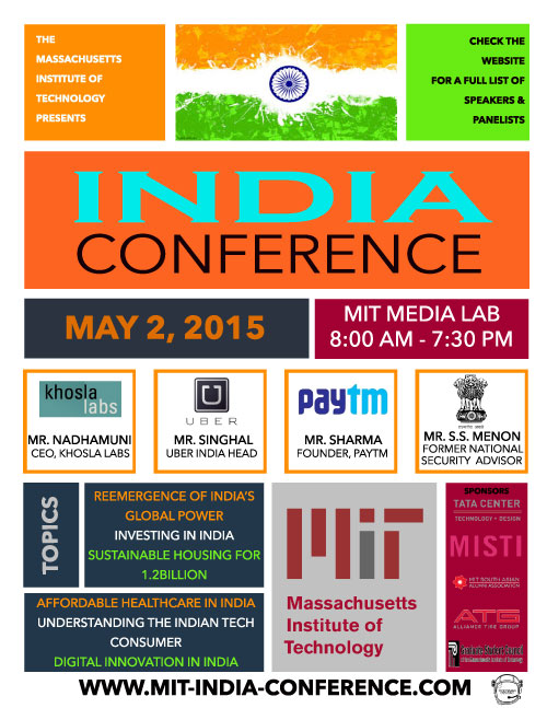 MIT India Conference: A New India In A Changing World