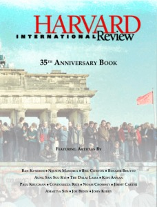 Launch Of The Harvard International Review 35th Anniversary Book