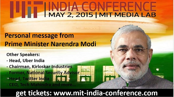 MIT India Conference 2015 – A New India In A Changing World!