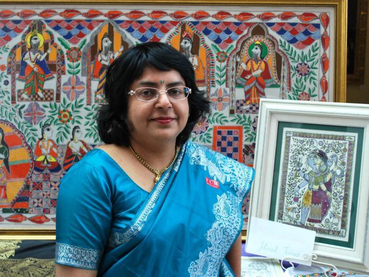 Sunanda Sahay - IndiArt Judge