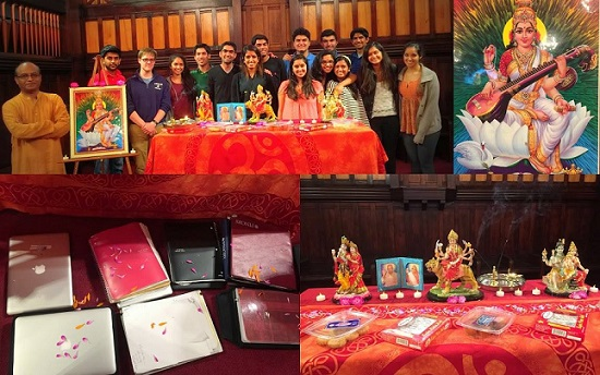 Tufts HSC Concludes Spring Semester With Saraswati Puja