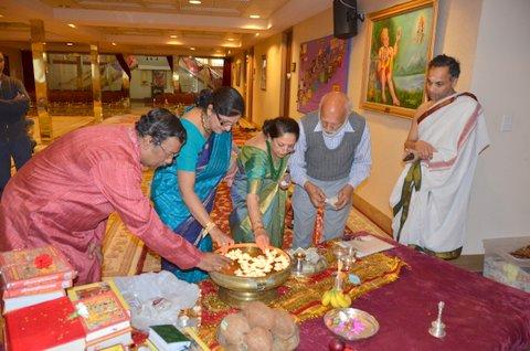 Chinmaya Maruti  Hosts Akhand Ramayana