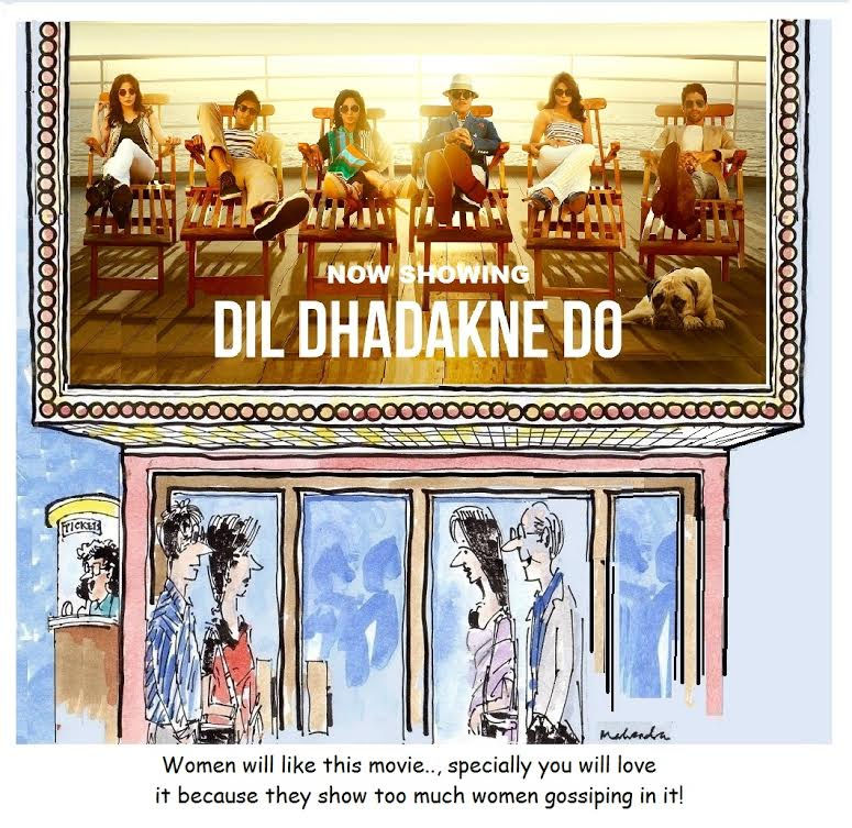 Cartoon:  Dil Dhadakne Do