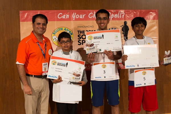 The 2015 MetLife South Asian Spelling Bee Kicks Off  LA & Bay Area Winners Announced