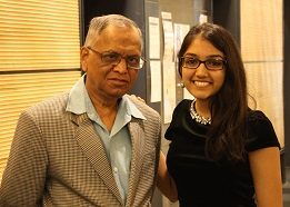 Narayana Murthy Answers Questions From Students At McGill University, Canada