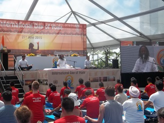 1st International  Day Of Yoga And My Sojourn