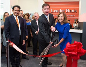 Leader Bank Opens Seaport Innovation Branch With Mayor Walsh And Treasurer Goldberg