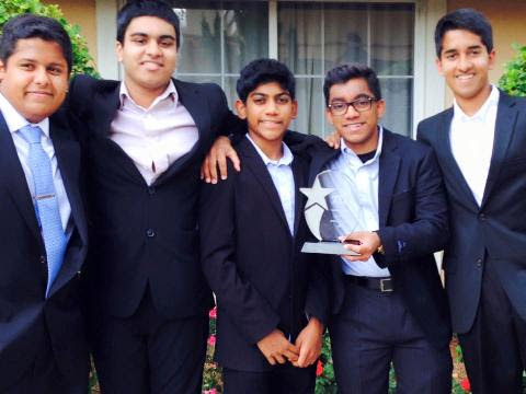 Boston's Team Bijli Energy Wins 1st Place At TyE Global Competition