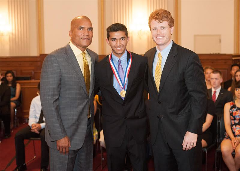 Arjun Sridhar Receives The Congressional Award Gold Medal