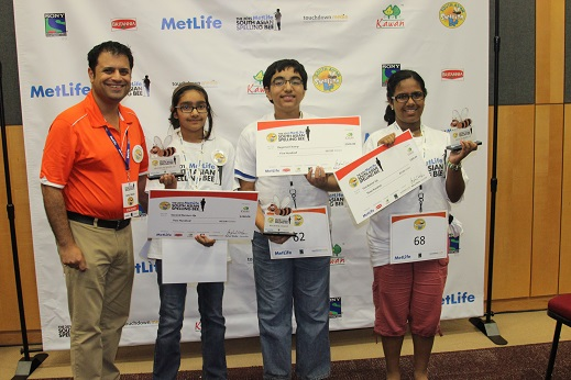 The 2015 MetLife South Asian Spelling Bee Kicks Off  DC Metro & New Jersey Winners Announced