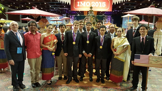 Two Indian-Americans Among U.S. Math Olympiad Winners