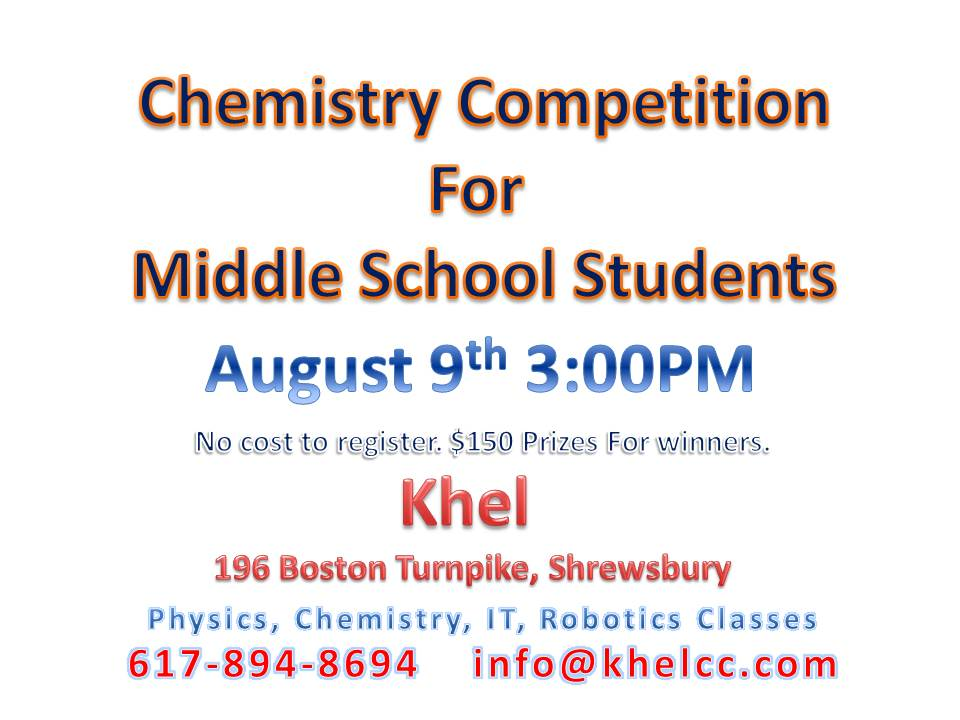 Chemistry Contest At Khel