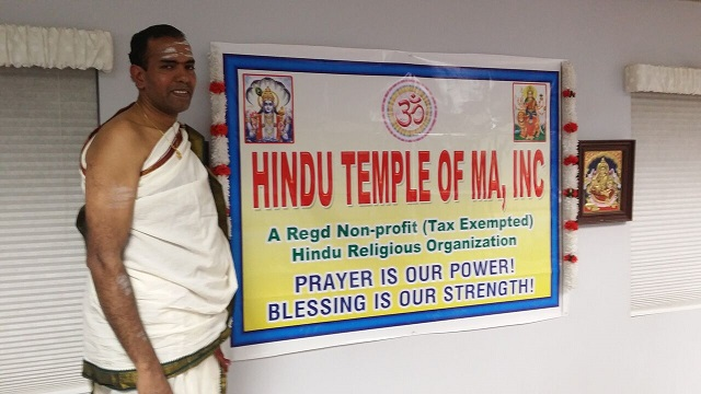 Acton Hindu Temple Celebrates First Anniversary