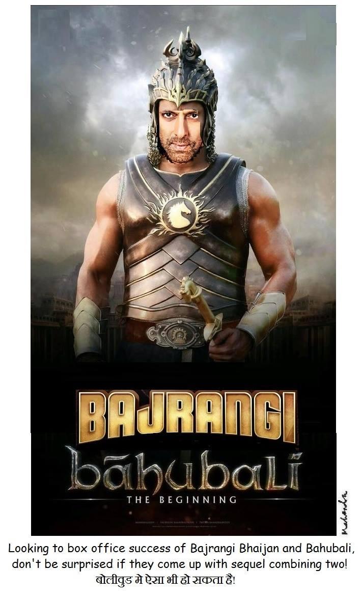 Cartoon: Bajrangi Bahubali