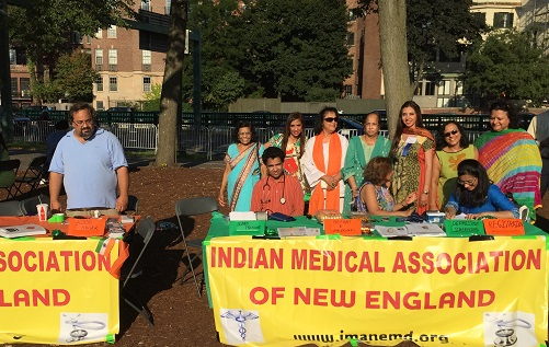 IMANE Holds Free Health Screening At IAGB India Day Celebrations