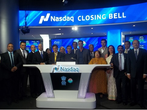 Ringing NASDAQ Closing Bell For Independence Day