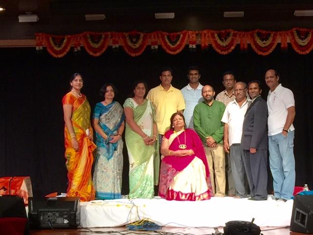 Padmasri Dr. Shobha Raju Performs At Chinmaya Maruti Temple
