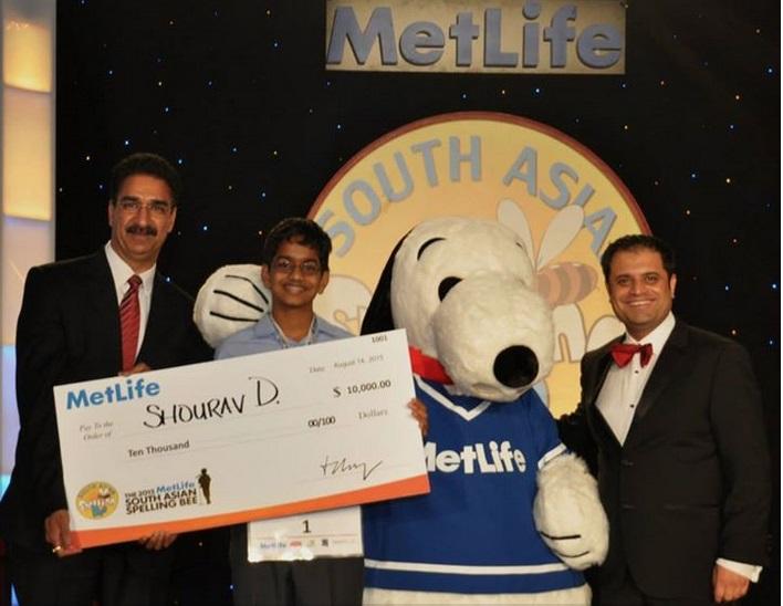MetLife Announces 2015 Spelling Bee Champion