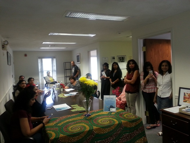 Saheli Holds Open House