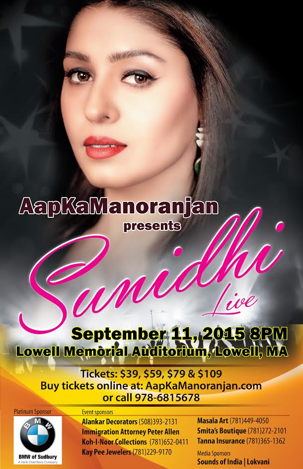 Sunidhi Chauhan Live In Concert