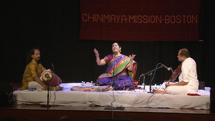 A Delightful Concert By Smt. Aruna Sairam