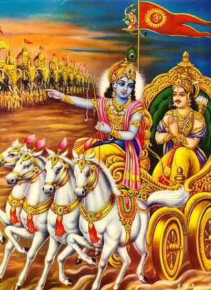 The Annual Bhagvad Geeta Reading At Sri Lakshmi Temple