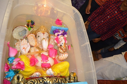 Ganesh Chaturdhi Celebrations At Shirdi Sai Temple, Chelmsford