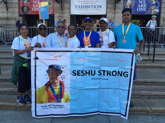 Seshu Strong Participates In Jimmy Fund Walk