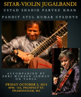 A Jugalbandhi Of Sitar And Violin