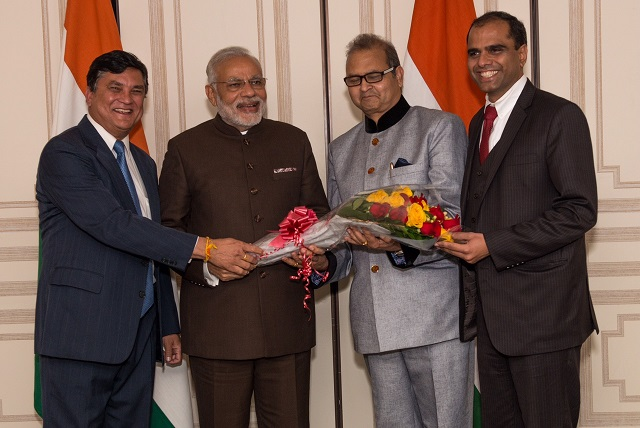 Bostonians Meet With Prime Minister Modi On Transforming India's Health Care System
