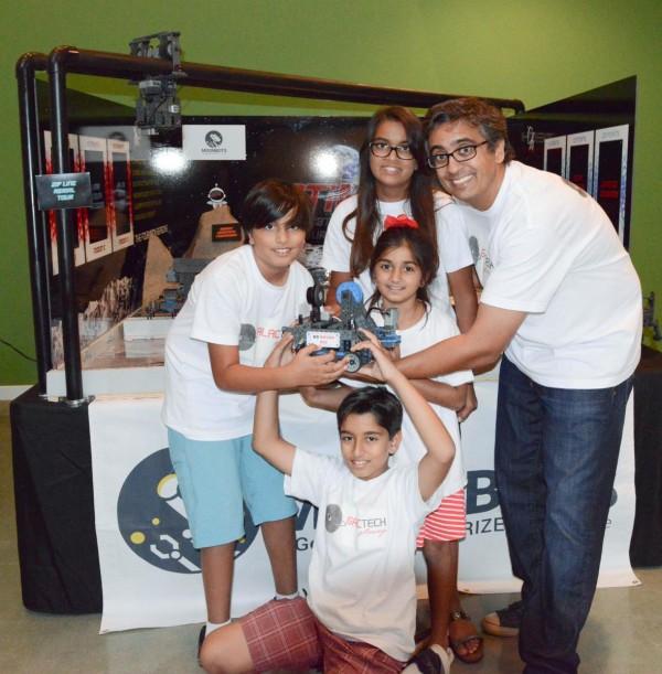 Indian American Children From CA Win Google's 'Moonbots Challenge'
